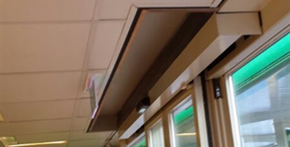 Benzinestation aanpassing interieur ciolina bv for Hoogebeen interieur bv