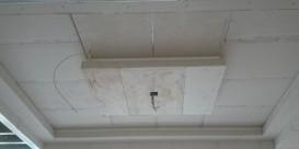"Detail ""koven"" plafond."